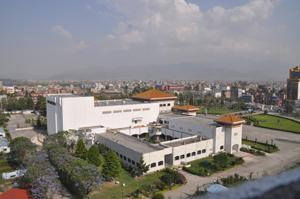 ICC Building Top View